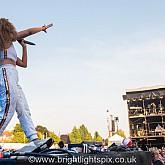 Ella Eyre at Brighton Pride Festival 040818